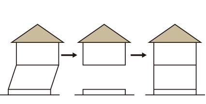 高さ調整(1回分取替工事) イメージ